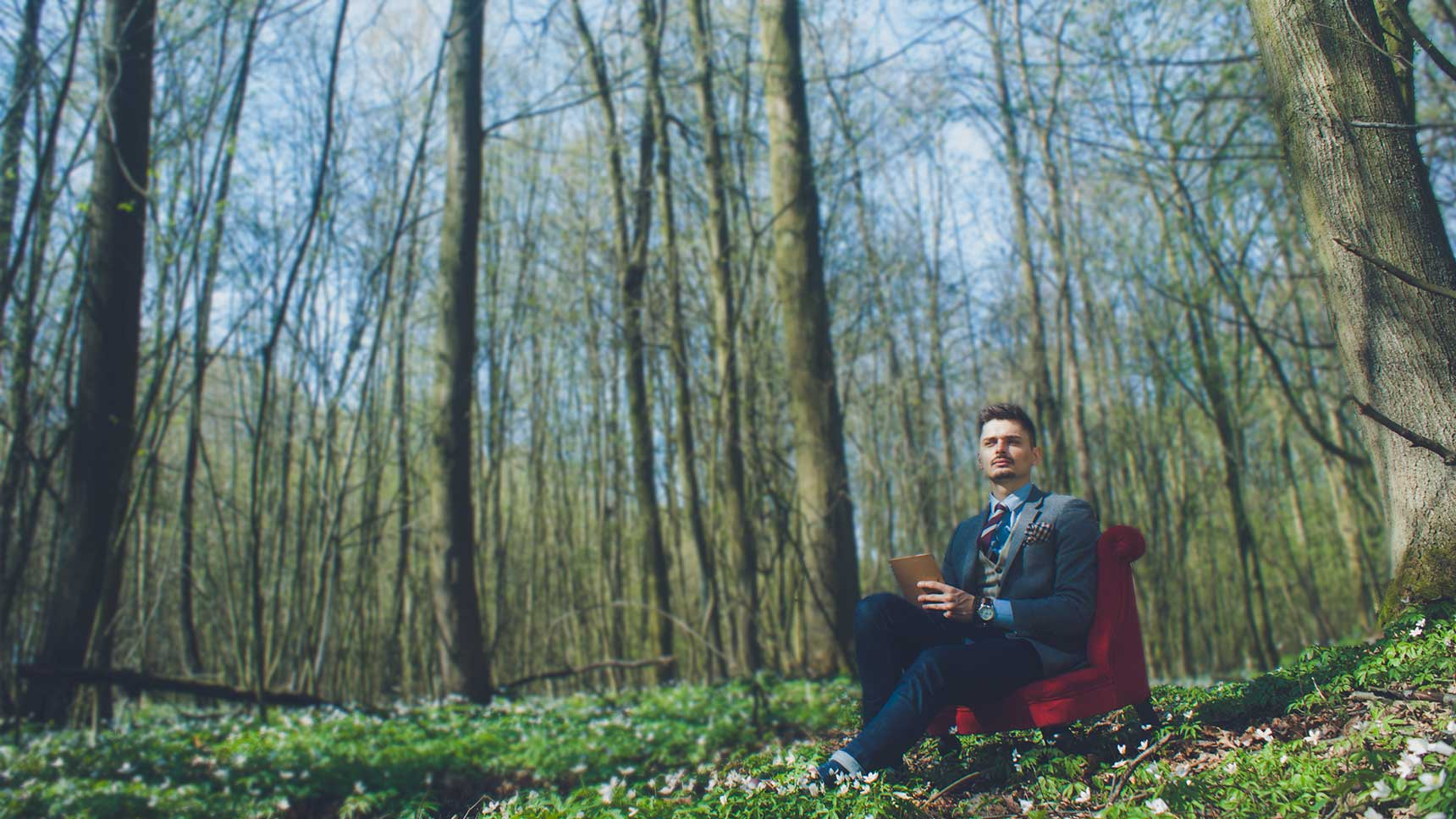 spotkanie z Joszkiem Brodą, medytacja przy kawie